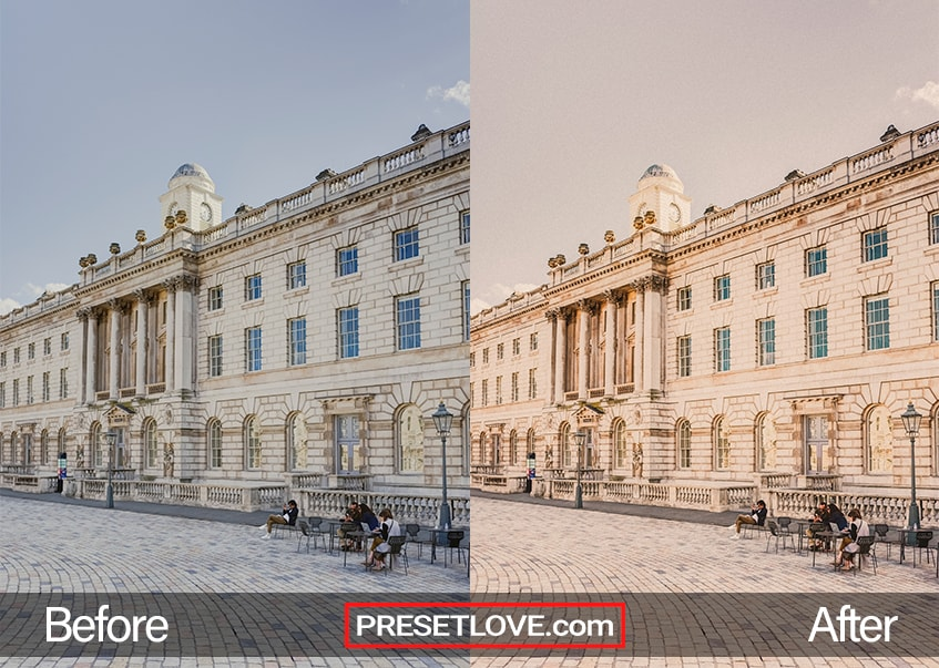 Vintage Architecture Preset - Somerset House