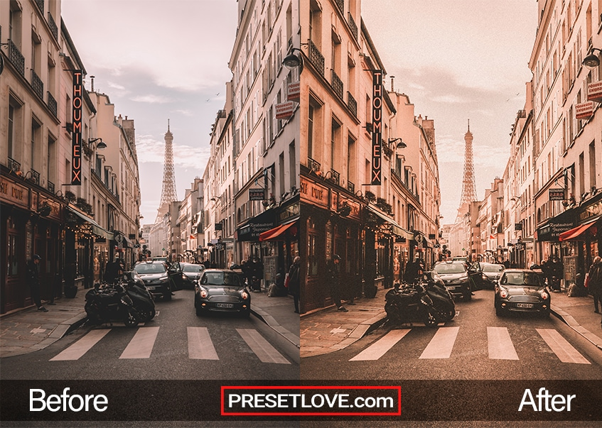 Vintage Architecture Preset - Paris Street