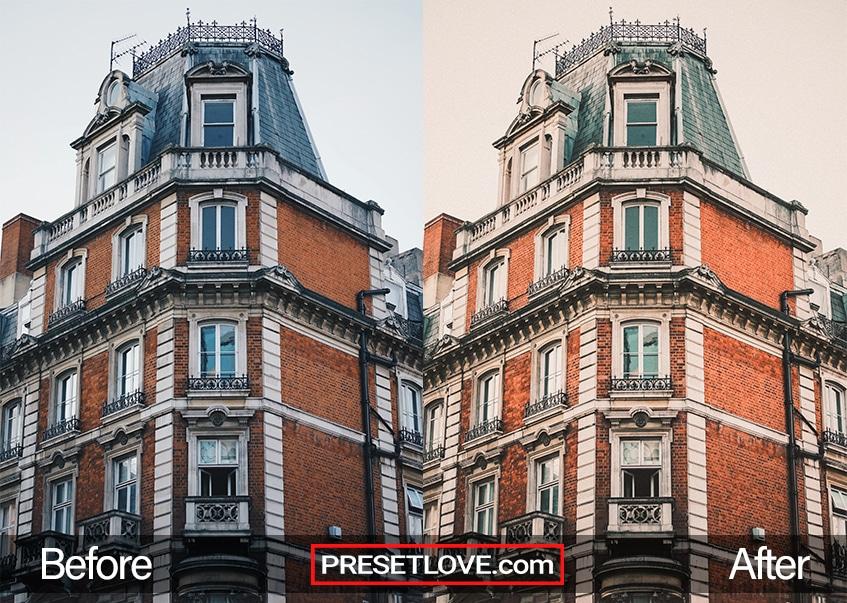 Vintage Architecture Preset - Victorian house