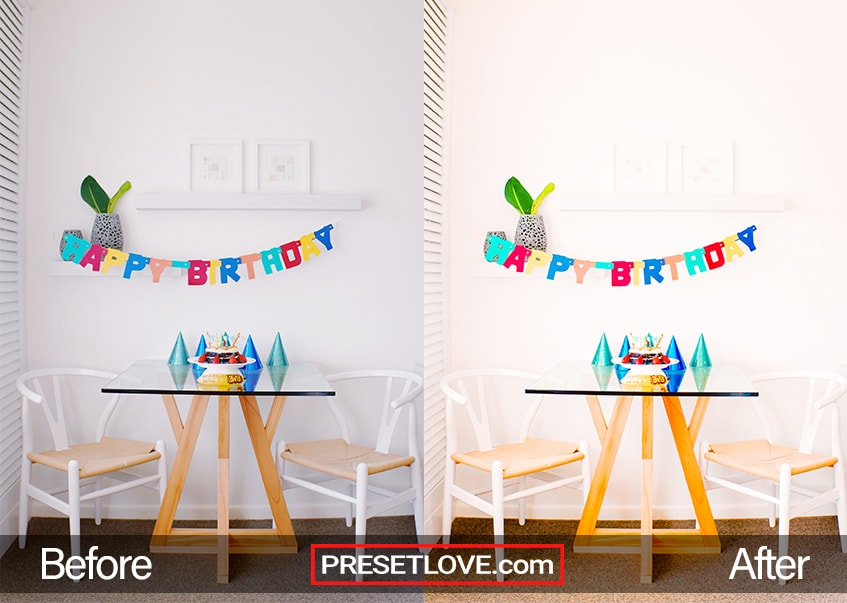 Vivid Party Preset - happy birthday