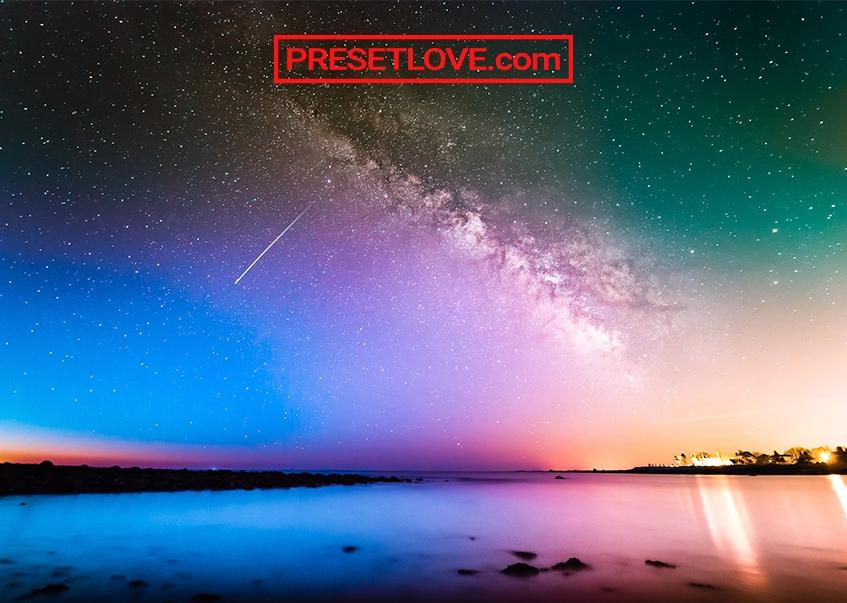 Night Sky Colorful PresetLove