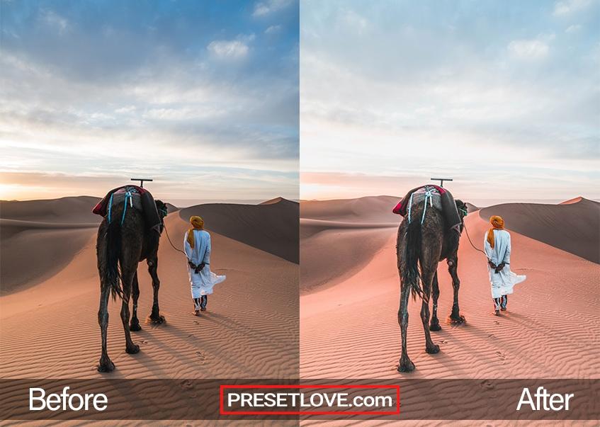 Desert Sun | FREE Preset Download for Lightroom | PresetLove