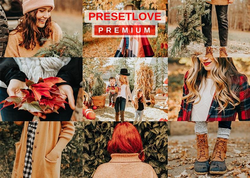 Autumn Fashion Premium Lightroom Preset for Fall Photography
