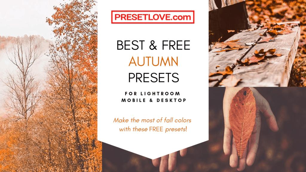 PresetLove.com Best Free Autumn Presets