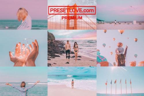 Pastelscapes Premium Preset Collage - PresetLove.com