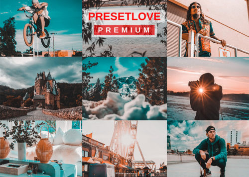 Orange and Teal PRO Premium Preset - PresetLove.com