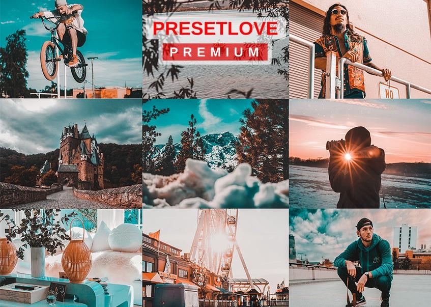 Orange and Teal PRO Premium Preset - PresetLove.com