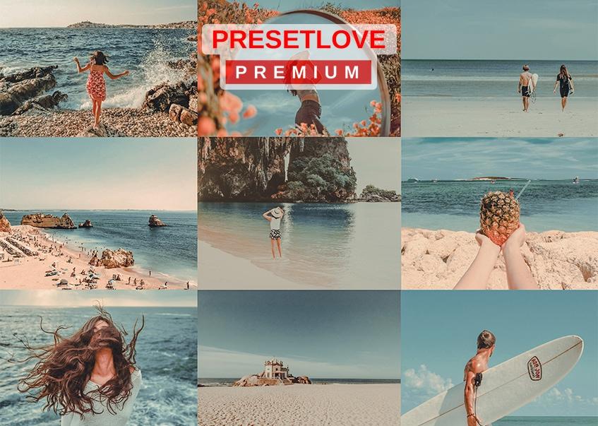 Tropical Tangerine Premium Preset by PresetLove