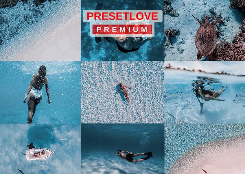 Deep Dive Premium Preset - PresetLove