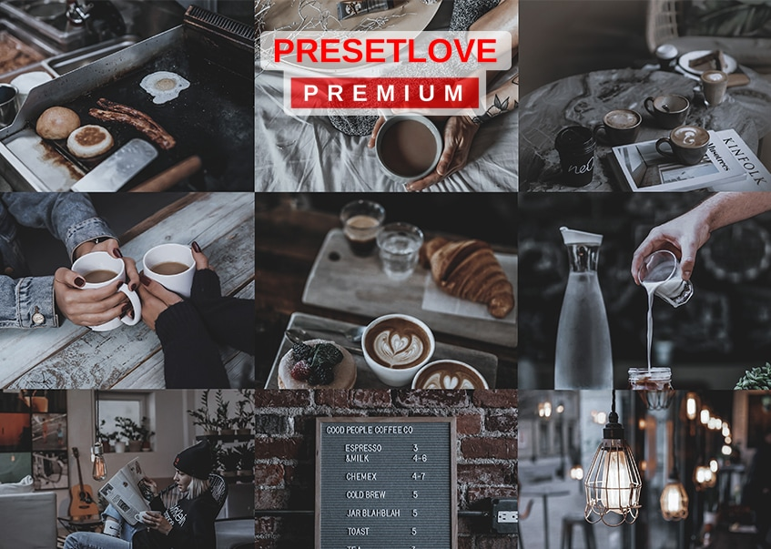 Hideaway premium Lightroom preset by PresetLove - Dim and soft tones for indoor photos