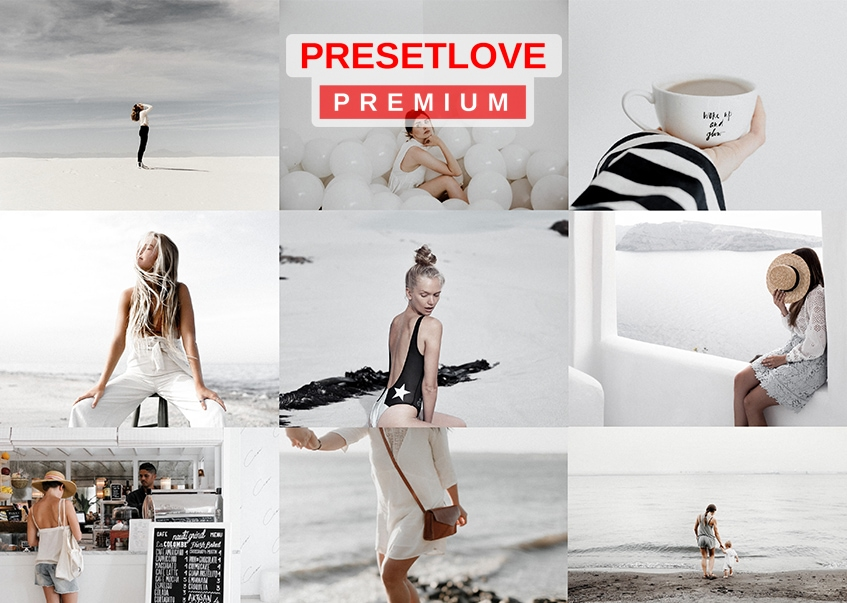 High Key White Premium Lightroom Preset by PresetLove