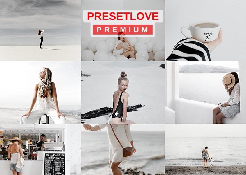 High Key White Premium Lightroom Preset by PresetLove