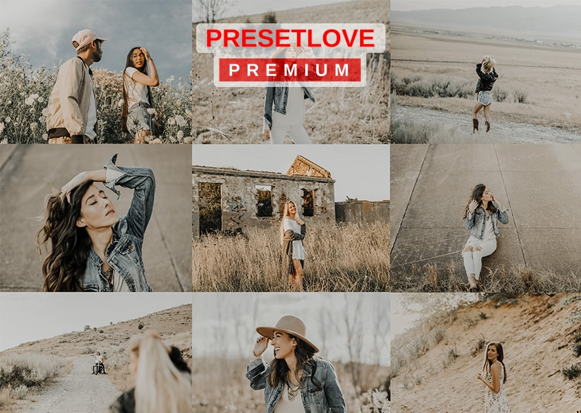 Indie Fields light and airy Lightroom preset by Preset Love