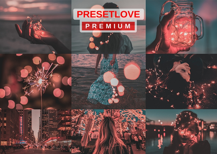 Rouge Premium Blue and Red Lightroom Preset by PresetLove