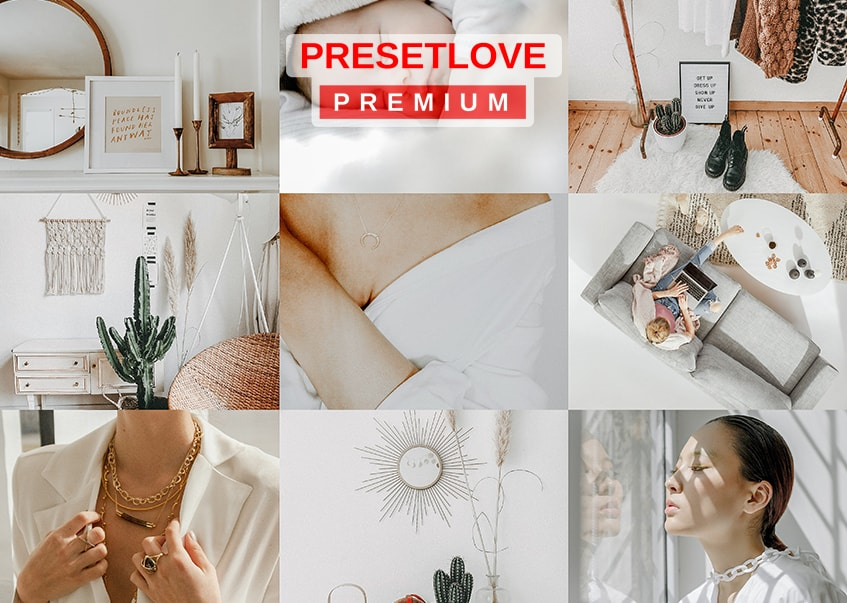 Soft Radiance White Light and Airy Preset from PresetLove
