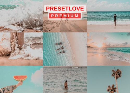 Summer Glaze - Premium Orange & Teal Lightroom preset for vacation and beach photos by PresetLove