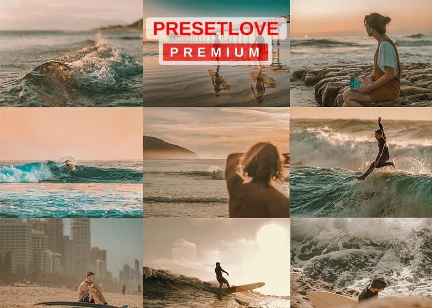 Sunset Bay Premium Preset - PresetLove