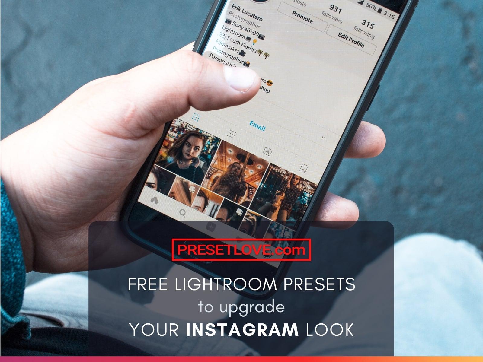 Lightroom presets to upgrade your Instagram Look | PresetLove