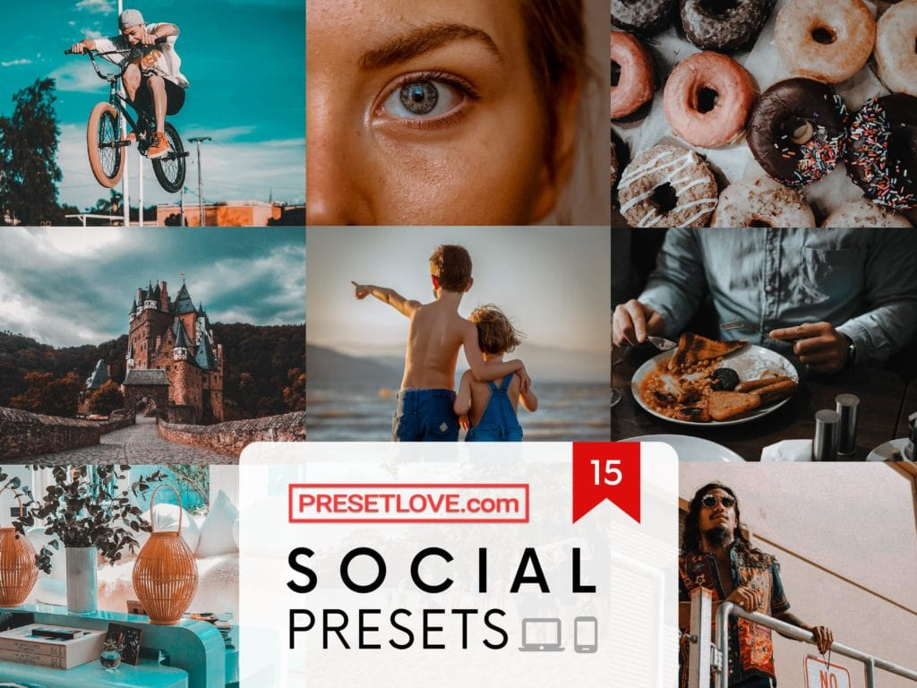 Social Collection Lightroom presets by PresetLove