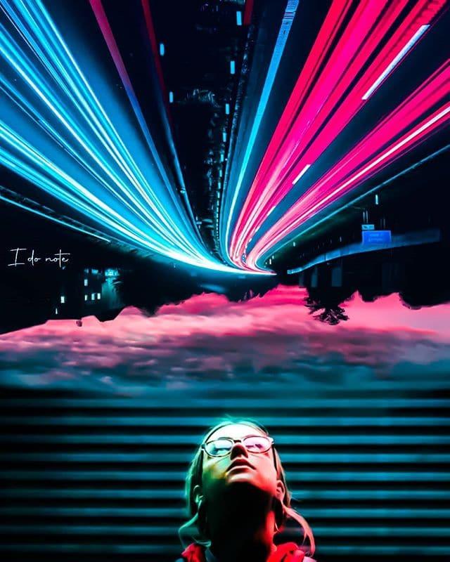 Photographer using Brightening Preset