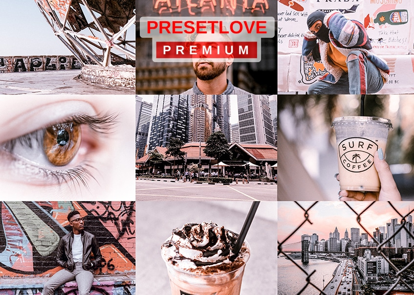 Peaches Peaches urban Instagram Lightroom preset by PresetLove