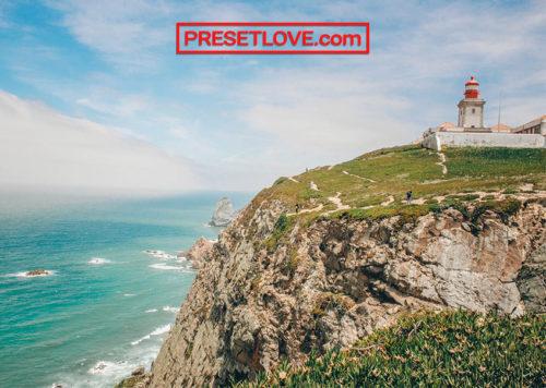 Cabo da Roca film landscape Lightroom preset
