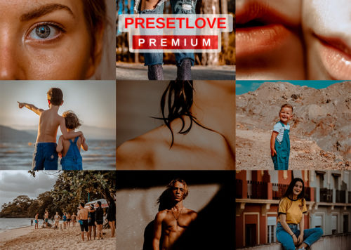 Cinematic HD Lightroom preset collage featured preview by PresetLove