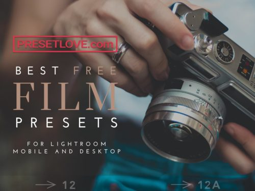 Best free film Lightroom presets by PresetLove
