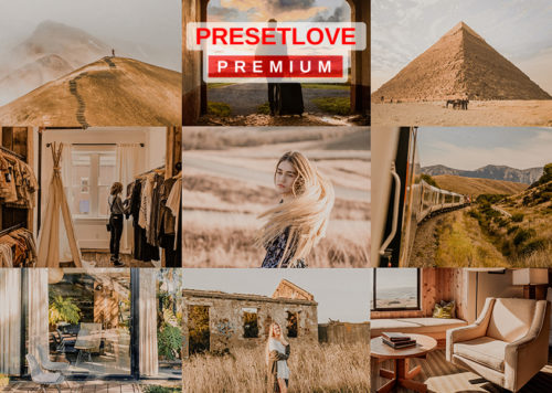 Gold Dunes Premium Golden Hour Lightroom Preset
