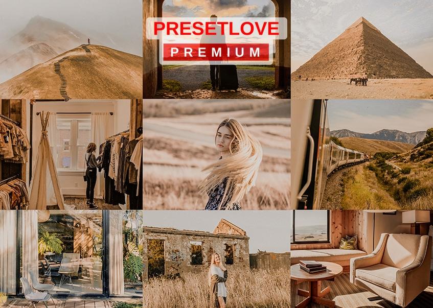 Gold Dunes Premium Golden Hour Lightroom Preset
