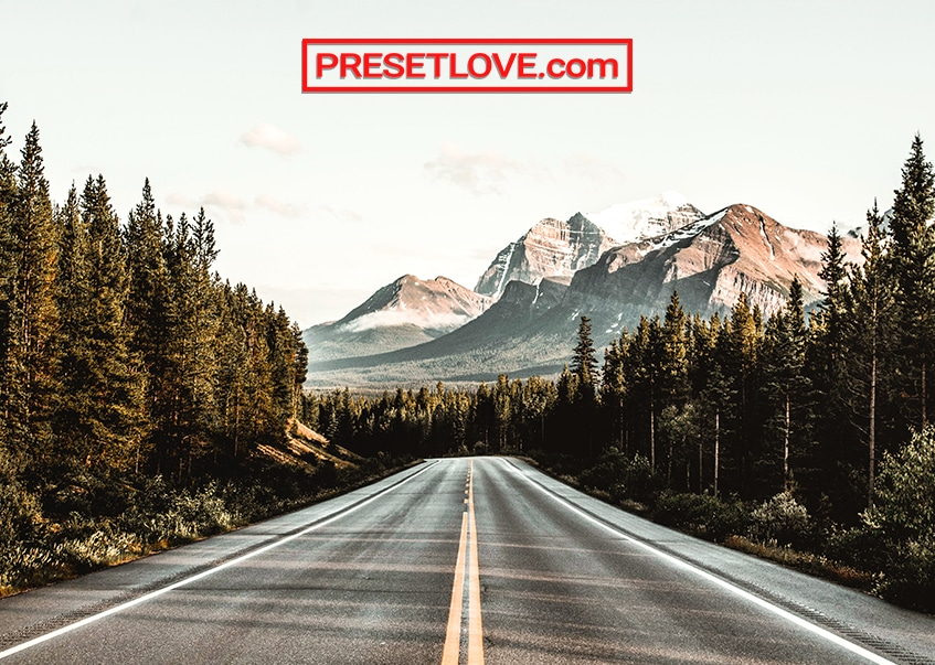 Highway Trip travel Lightroom preset by PresetLove