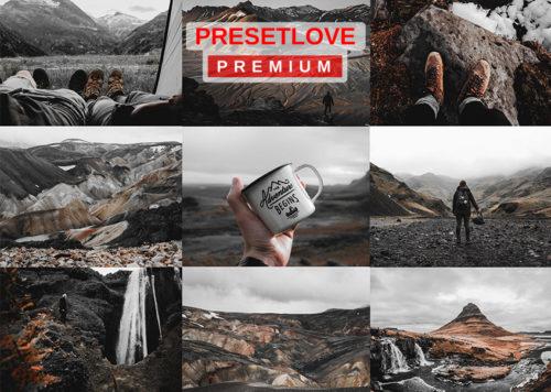 Volcanic Ash Premium Dark Landscape Preset by PresetLove