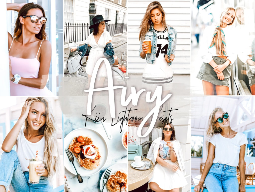 Airy and Bright white preset collection by KIIN Lightroom Presets