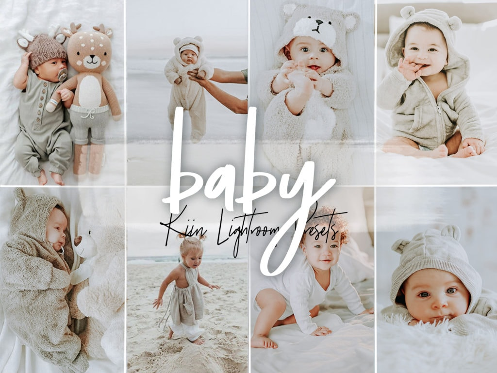 Baby Lightroom Presets for Instagram by KIIN