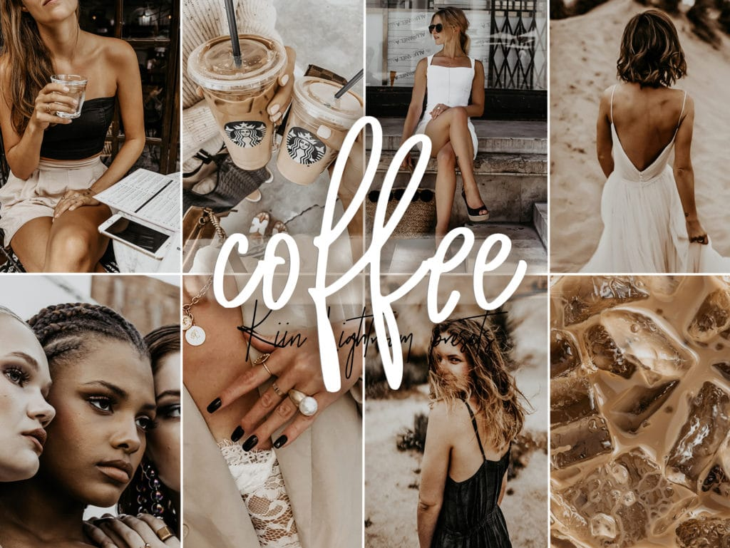 Coffee Lightroom presets for Instagram and blogs