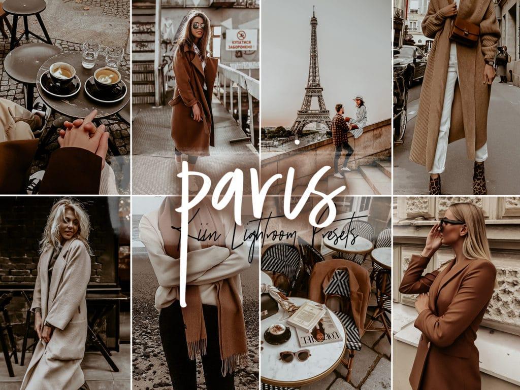 Fall in Paris brown Lightroom presets by KIIN