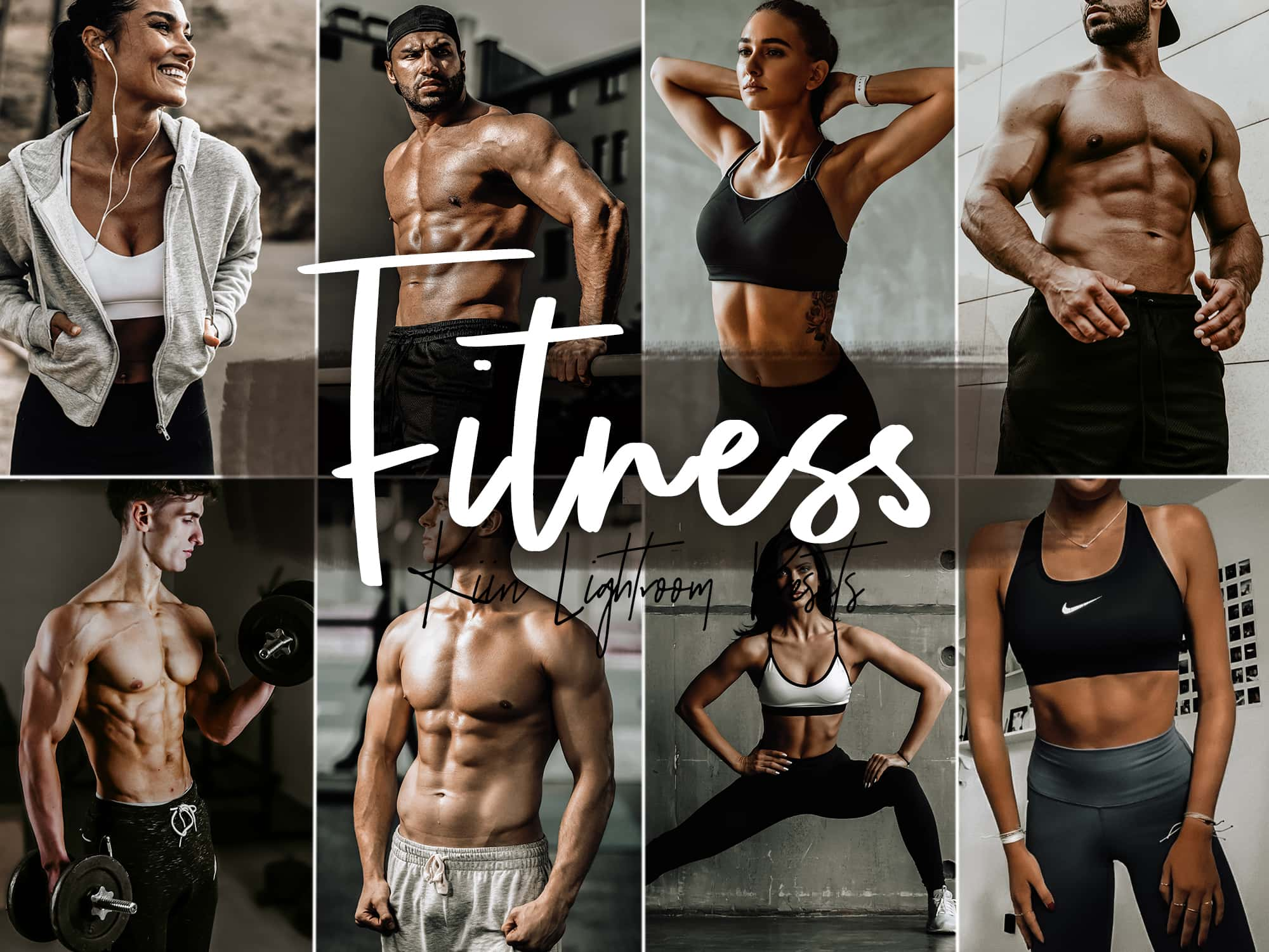 Fitness Presets for Mobile and Desktop - Dark and Moody, Urban - KIIN