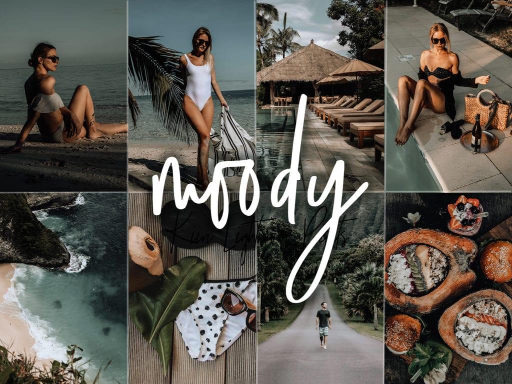 Moody presets for Lightroom Mobile and Desktop - KIIN presets
