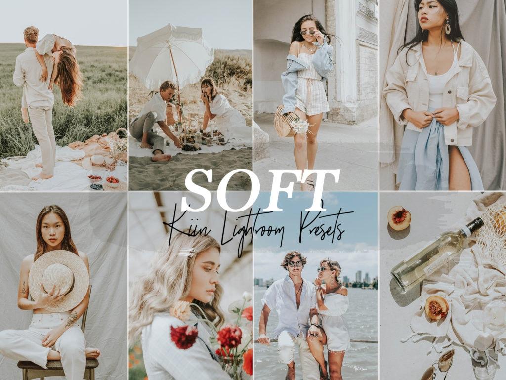 Soft White Influencer Lightroom Presets by KIIN