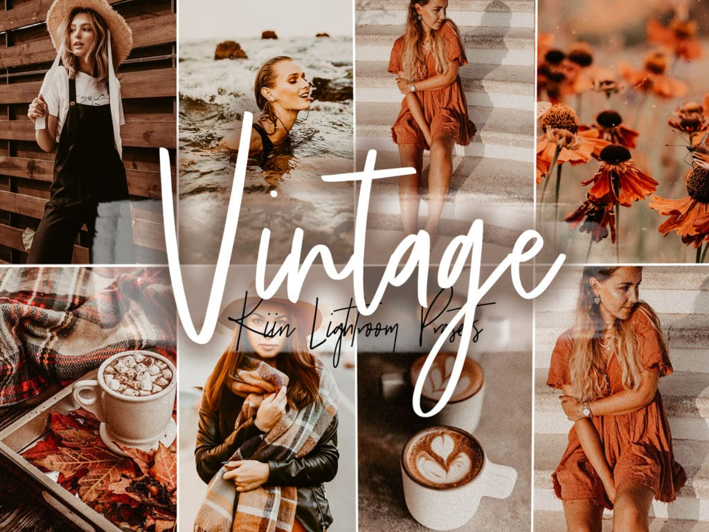 Vintage Lightroom presets for Instagram by KIIN
