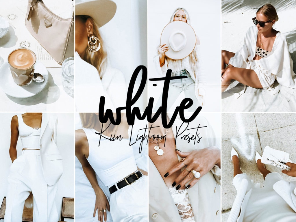 White Lightroom Presets by KIIN