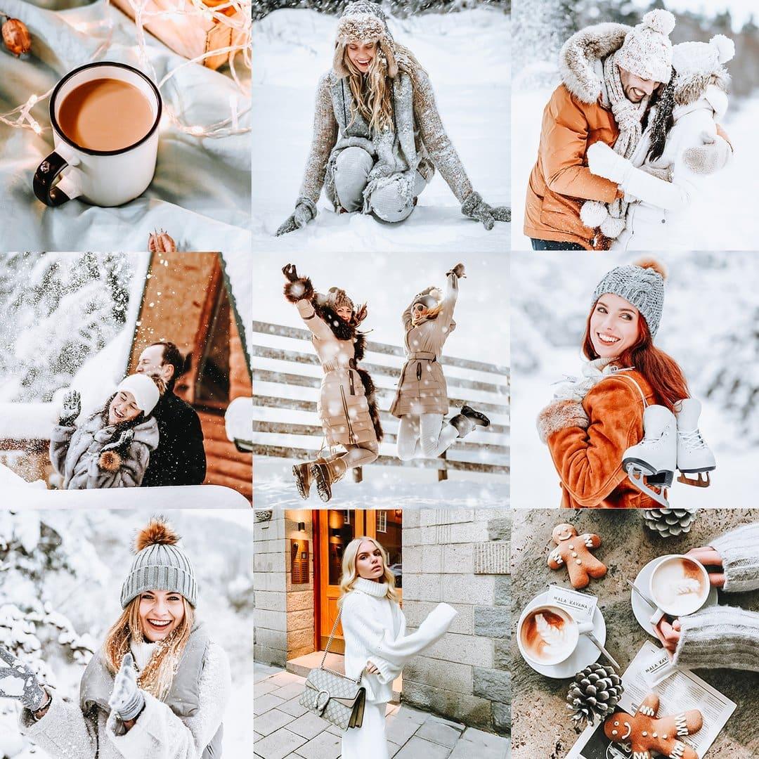 Winter Wonderland Presets for Winter