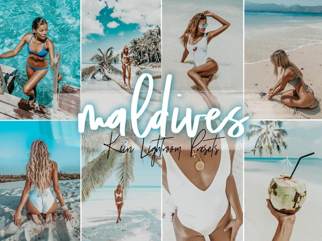 Maldives KIIN Travel Lightroom Preset