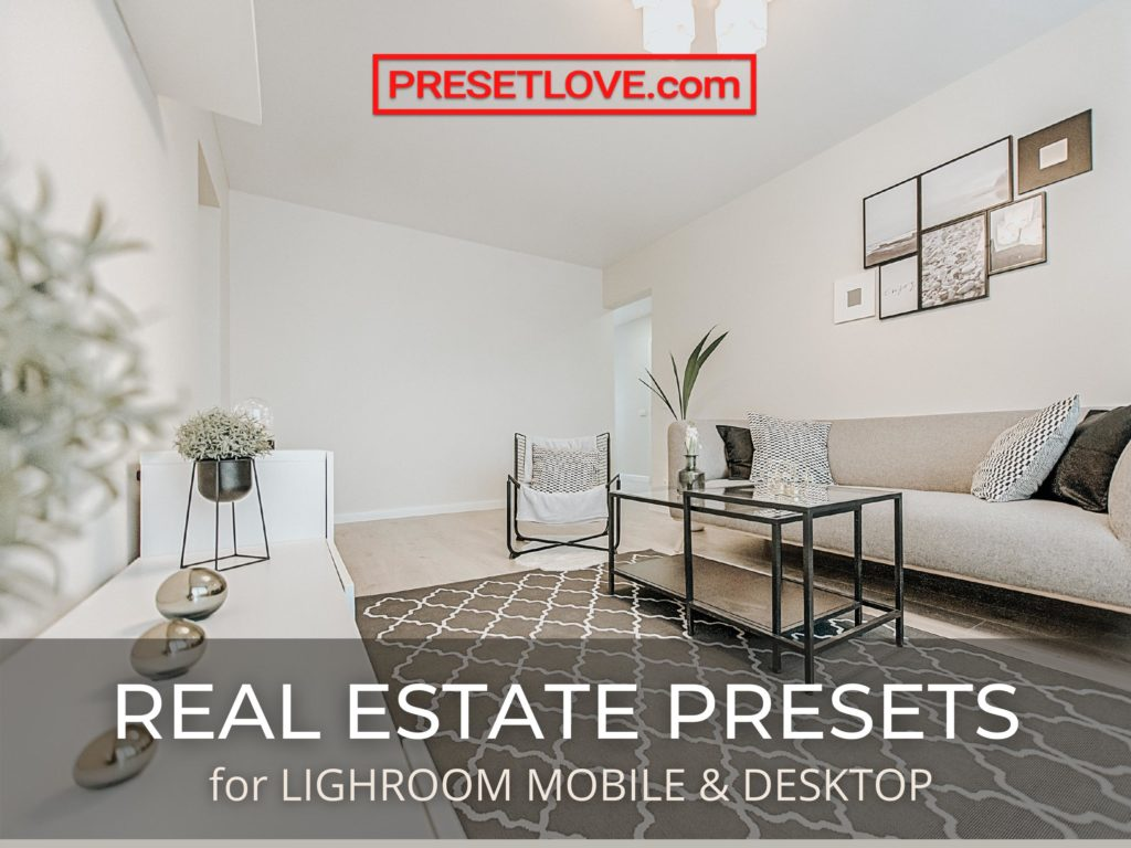 Real Estate Lightroom Presets for Mobile and Desktop - Interior and Exterior - Free and Paid