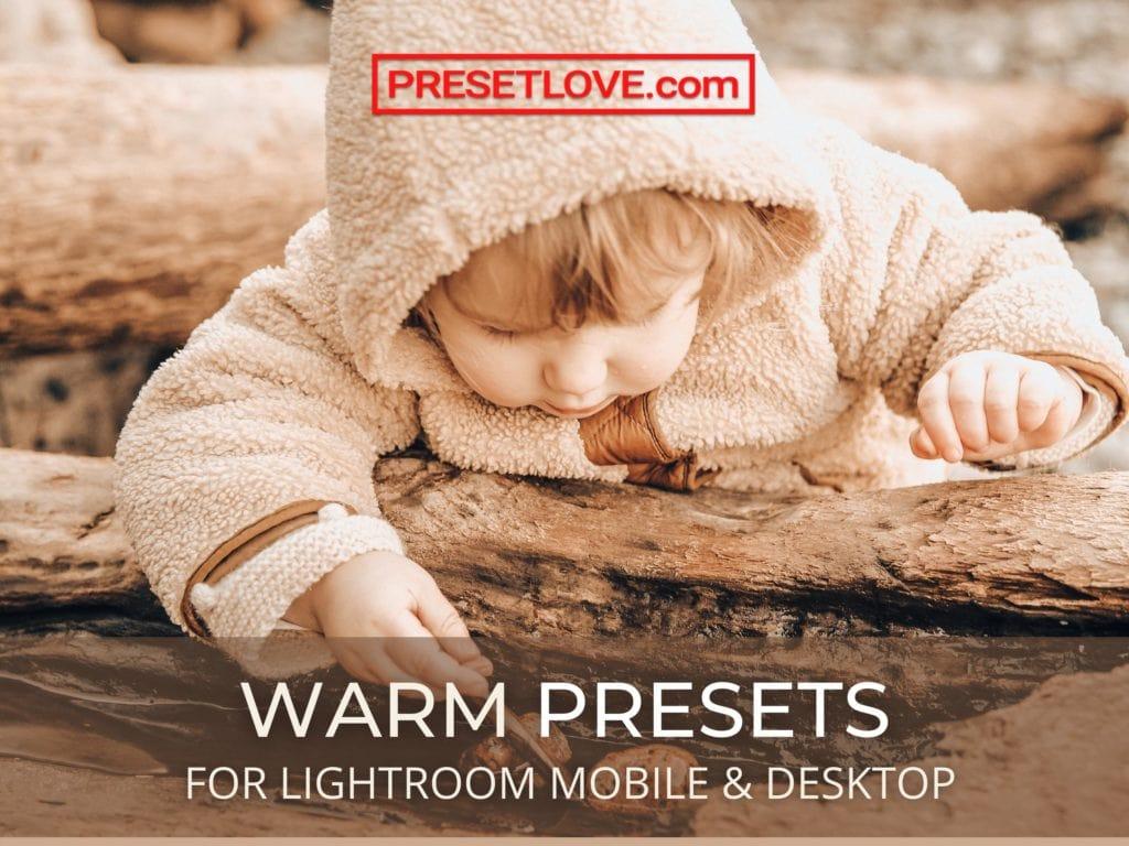 Warm Lightroom Presets for Mobile and Desktop by PresetLove