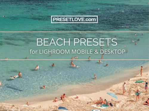 Lightroom Beach Presets by PresetLove