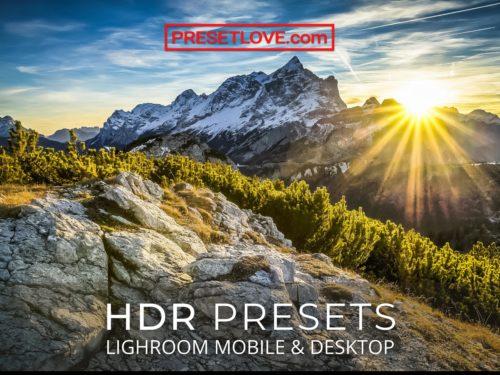 Lightroom HDR preset downloads - free - PresetLove