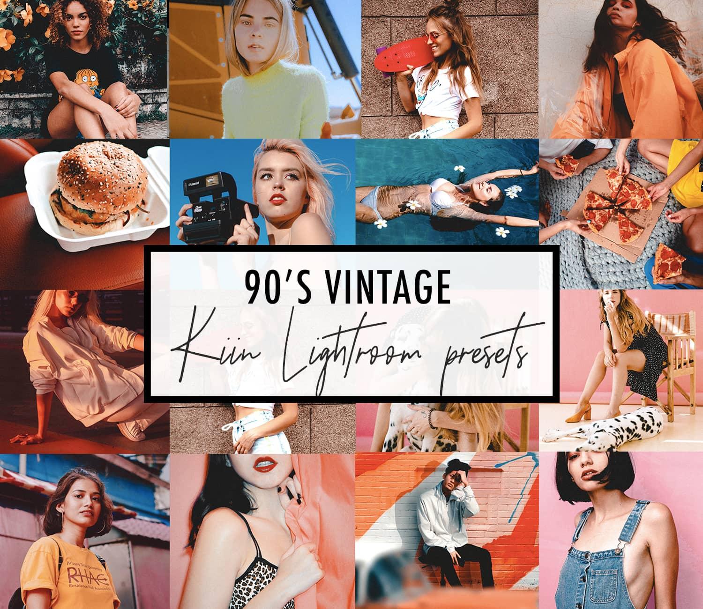 KIIN 90s Vintage Lightroom Presets