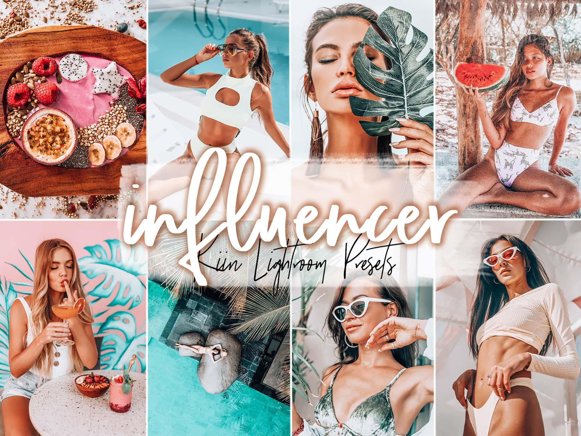 Influencer fashion and social media Lightroom presets by KIIN