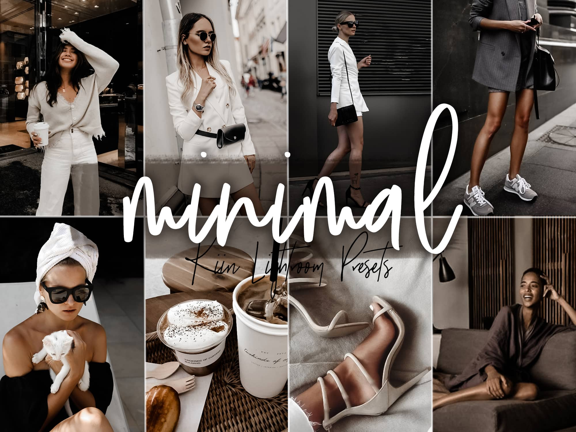 Minimal Fashion Blogger Presets for Mobile and Desktop - KIIN